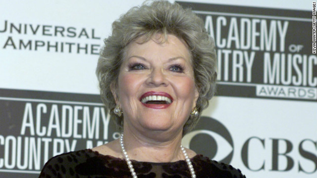 Patti Page was a presenter at the 36th Annual Academy of Country Music Awards in Los Angeles, California in 2001.