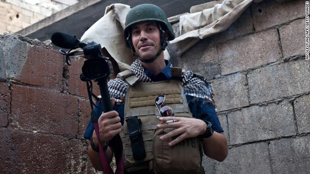 Freelance reporter<a href='http://www.cnn.com/2013/05/03/world/meast/syria-missing-journalist'> </a><strong>James Foley</strong> went missing in November 2012 after his car was stopped by gunmen in Syria. A <a href='http://www.cnn.com/2014/08/19/world/meast/isis-james-foley/index.html'>video released by ISIS</a> on Tuesday, August 19, shows Foley being beheaded. The video posted on YouTube contained a message to the United States to end its military operations in Iraq.