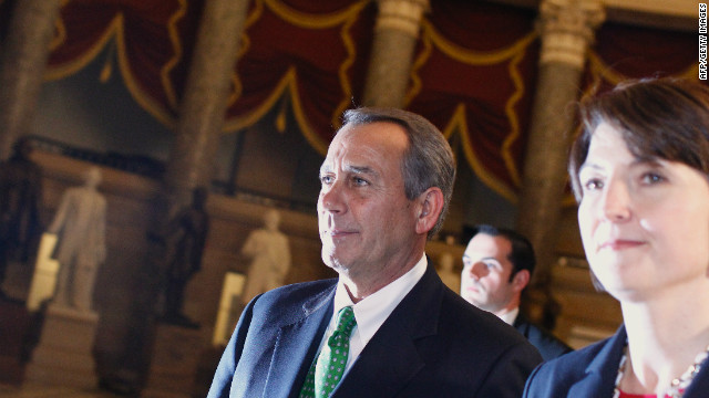 Boehner confident in re-election to speaker