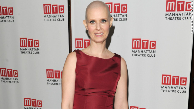 Cynthia Nixon committed for her role as a cancer patient in the Broadway play &quot;Wit.&quot; &quot;I thought it was kind of gonna be no muss-no fuss,&quot; the &lt;a href='' target='_blank'&gt;actress told Kelly Ripa on &quot;Live With Kelly,&quot; &lt;/a&gt;&quot;but I have to shave it every day! It's got kind of a 5 o'clock shadow, and you don't want to go on with that.&quot; 