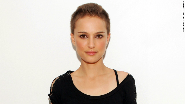 "Natalie Portman was pretty stunning when she lost her locks for a role in ""V for Vendetta"" in 2006. The shaving was done on camera and there was only one chance to get it right. ""That<i> </i>was the most stressful thing about the experience,"" <a href='http://usatoday30.usatoday.com/life/movies/news/2006-03-14-portman_x.htm' target='_blank'>she told USA Today</a>."