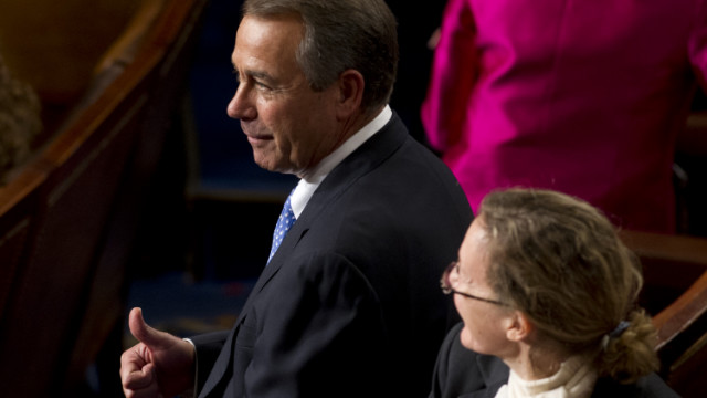 Boehner re-elected House speaker after day of drama swirled around him