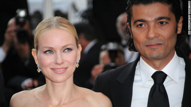 Actress Naomi Watts and actor El Nabawy attend the &quot;Fair Game'&quot; premiere during the Cannes Film Festival on May 20, 2010.