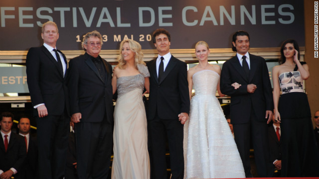 "The 2010 thriller was based on the memoir by former CIA agent Valerie Plame-Wilson (third from left), ""Fair Game: My Life As A Spy, My Betrayal By The White House."""