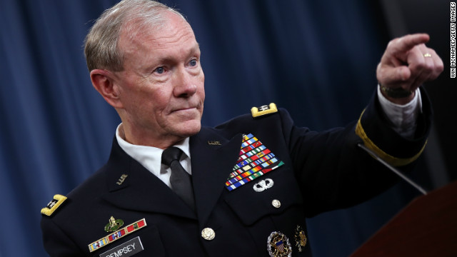 "Dempsey: Syria intervention is ""act of war"" that could cost billions"