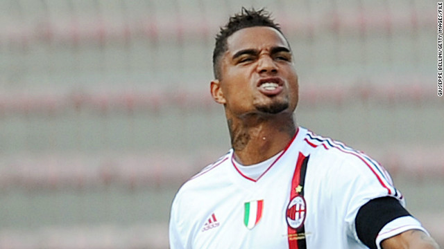 AC Milan's Kevin Prince-Boateng walked off the pitch after being racially abused during his side's friendly game with Pro Patria earlier this month. The midfielder was praised for his actions by FIFA president Sepp Blatter.