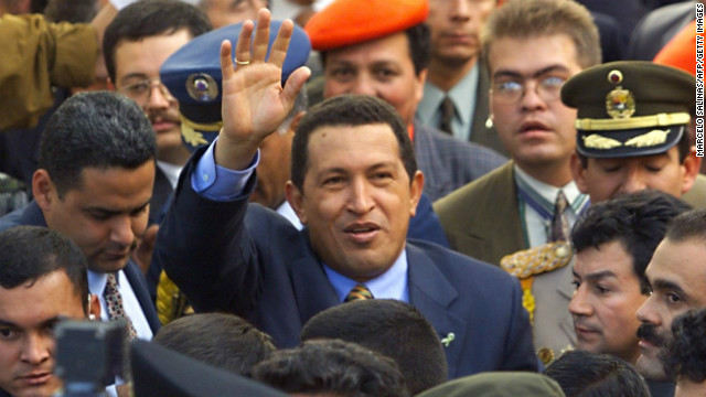 Venezuela's Chavez getting better, official says
