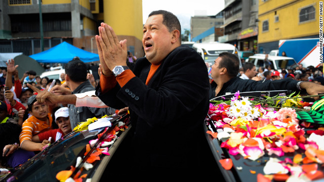 Hugo Chavez, the polarizing president of Venezuela who cast himself as a