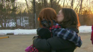 Emotional return to school for Sandy Hook