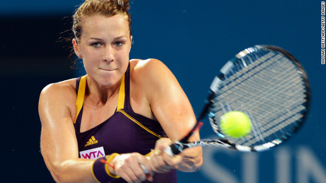 The American will play Russia's world No. 36 Anastasia Pavlyuchenkova, who defeated 116th-ranked Ukrainian Lesia Tsurenko to reach her fifth WTA Tour final.