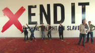 Christian youth vow to end slavery