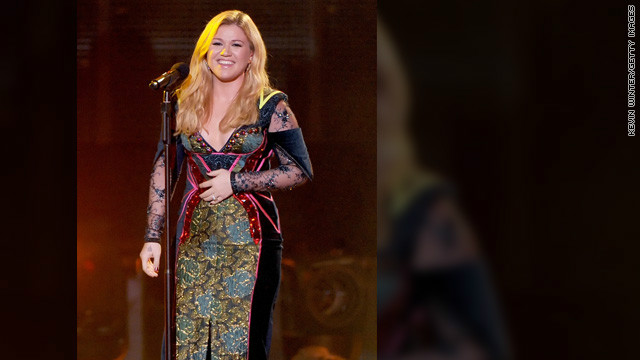 Love led to weight loss for Kelly Clarkson