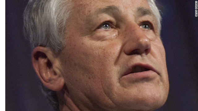 Hagel trying to set record straight