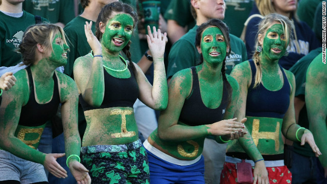 """Go Irish"" may have evolved into #goirish in some circles, but fans share a common denominator: utter devotion to ND football."