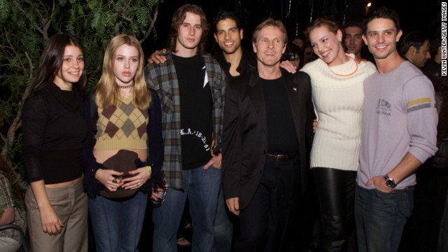 "Perhaps best known for launching the career of Katherine Heigl (pictured here with the cast at a public appearance), ""Roswell"" came along for the ride with ""Buffy"" after two seasons on the WB. However, its UPN run only lasted one season."