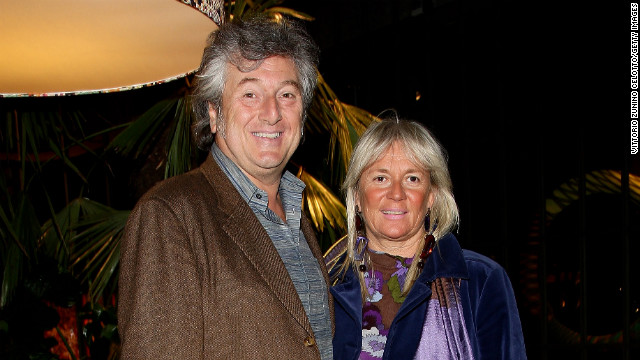 A small plane carrying Italian fashion director Vittorio Missoni and his wife, Maurizia Castiglioni, has been missing off the coast of Venezuela since Friday, January 4. The couple is pictured in Milan, Italy, in 2010.