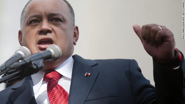 Supuesta investigación señala que Diosdado Cabello sería jefe de cartel de narcotráfico