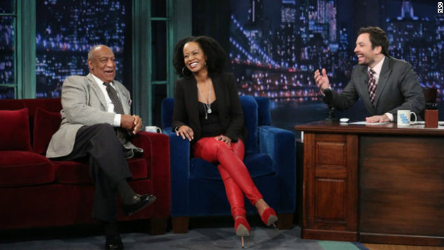 &#039;Late Night&#039; hosts a mini-&#039;Cosby&#039; reunion