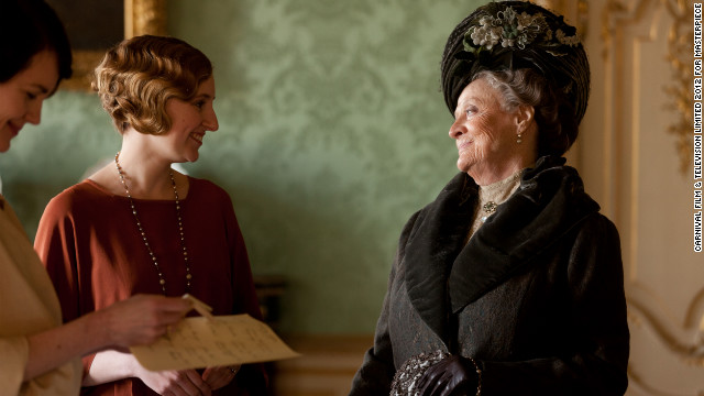 "Strip away the period costumes and posh accents and you're reminded that ""Downton Abbey"" is, at its heart, a great, big, pretty soap opera -- with all the sex, death and melodrama that entails. On top of that, there are folks in Great Britain who see it months before we do here in the U.S."