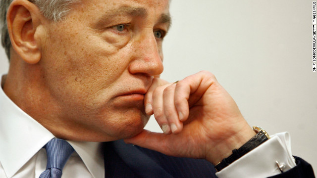Chuck Hagel&#039;s military, government career