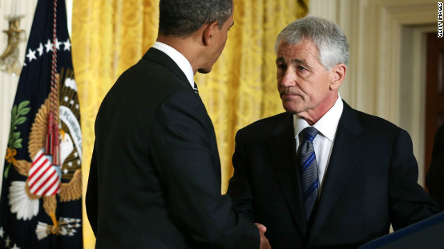 Pentagon readies Hagel for confirmation fight