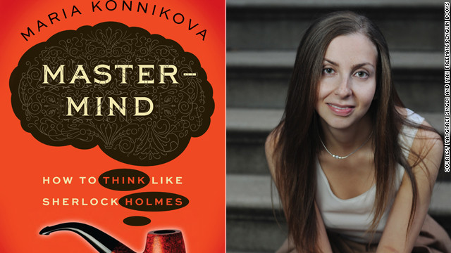 Author Maria Konnikova says multitasking isn't conducive to thinking clearly like Sherlock Holmes.