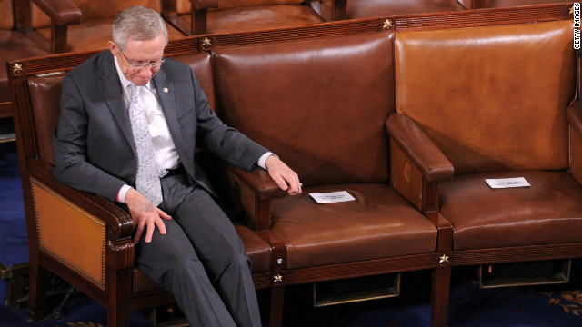 Reid: &#039;Misspoke&#039; when comparing Sandy, Katrina