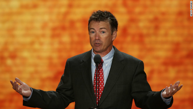 Rand Paul gives Obama the royal treatment