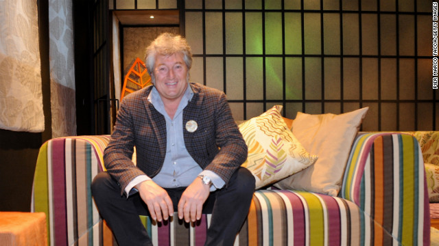 Vittorio Missoni attends the Missoni Loves Leaves cocktail party during Milan Design Week on April 16, 2012. The Missoni brand has expanded from apparel to housewares, a fragrance line and a chain of hotels.