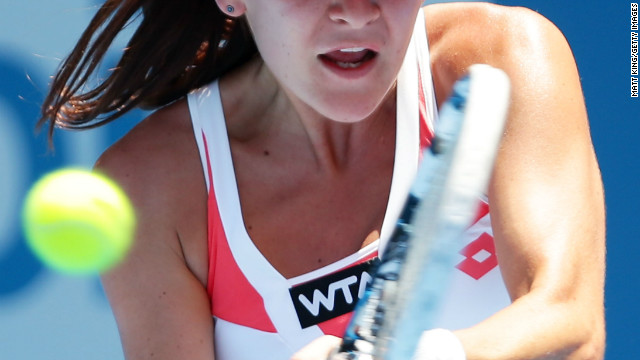 Tennis stars feel the heat in Sydney