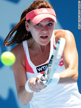 World no. 4 Agnieszka Radwanska claimed temperatures that reached 41.4 degrees in Sydney were &quot;too hot for tennis&quot; at the Apia International tournament. Australia is currently sweltering under its hottest skies for over 100 years.