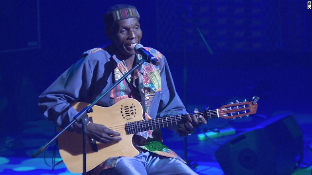 Mtukudzi's distinct musical style has been described as a mixture of Zimbabwean pop style &quot;jit&quot; and South African township pop. &quot;Where I come from you don't get to sing a song if you have nothing to say,&quot; he says. &quot;So every song has something to do with that man in the street, he must be able to use it in his life.&quot;