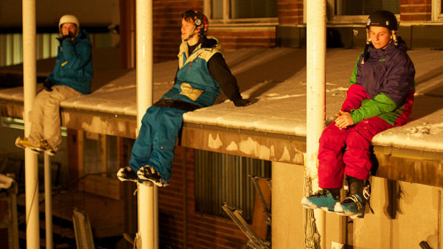 Rather than television, most amateur freestyle skiers find their fame on the internet. Finnish urban skiing company Real Skifi comprises Ilkka and Verneri Hannula and Juho Kilkki. Their short films, shot by Janne Korpela, often attract half a million hits.