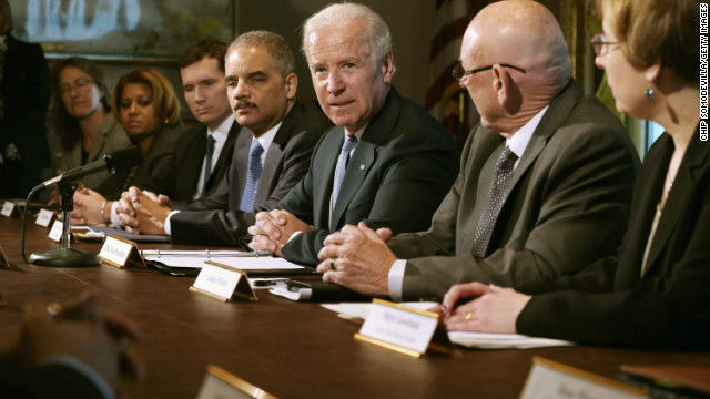 Biden's gun panel meets with faith leaders