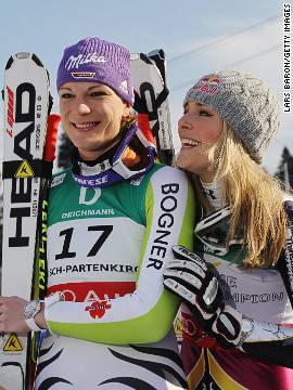 Some believe the drama of freestyle is taking viewers away from traditional downhill alpine skiing. John Fry, International Skiing History Association president, thinks alpine is missing chances to boost its popularity. He says a refusal to sanction a race-off between Maria Riesch and Lindsey Vonn when they were practically tied for the Alpine World Cup title in 2011 was a mistake.