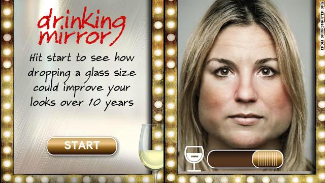 Una aplicación muestra cómo envejeces por consumir alcohol