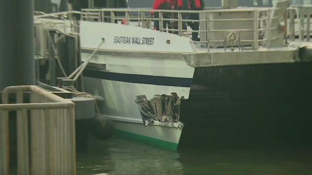 Una falla mecánica provocó el choque del ferry en Manhattan, dice el capitán
