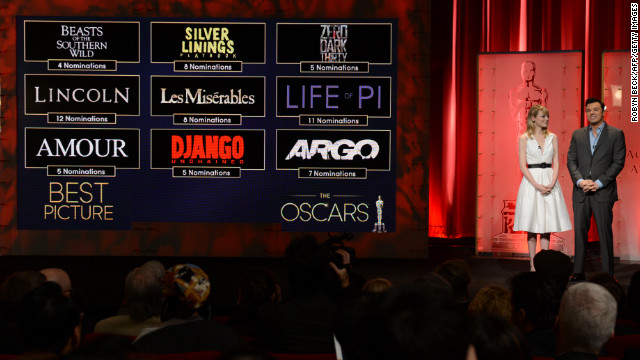 Academy Awards: Who\'s nominated?