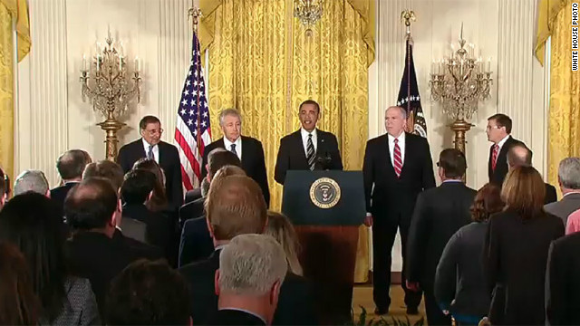 In nominating Chuck Hagel and John Brennan, President Obama signaled he intends to guard his policies, Julian Zelizer says.
