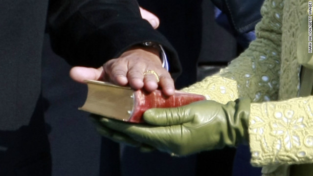 Obama to swear-in on a stack of historic Bibles