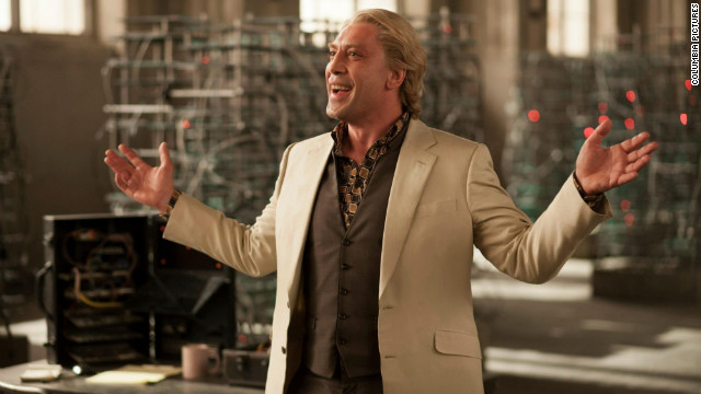 "To the dismay of some critics and CNN.com readers, Javier Bardem wasn't nominated for his role as Silva in ""Skyfall."" One commenter called Bardem ""the best Bond villain to date."""