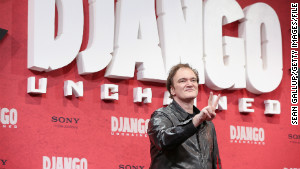 Director Quentin Tarantino attends the Berlin premiere of \