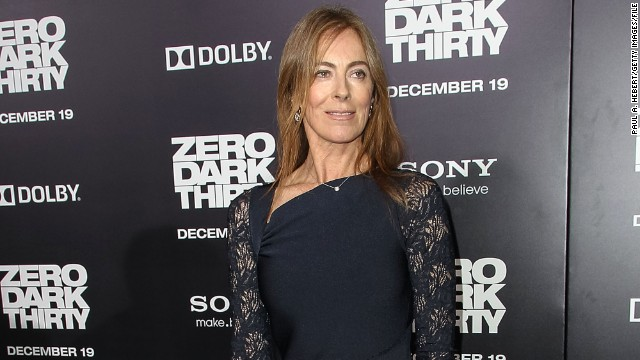 Kathryn Bigelow arrives at the Hollywood premiere of 