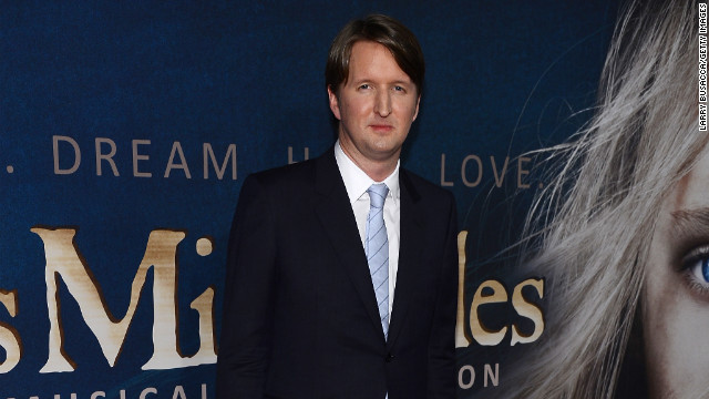 Tom Hooper's &quot;Les Misrables&quot; didn't earn him a nod for best director, despite the film garnering eight nominations, including one for best picture. Hooper won the Oscar for best director in 2011 for &quot;The King's Speech.&quot;