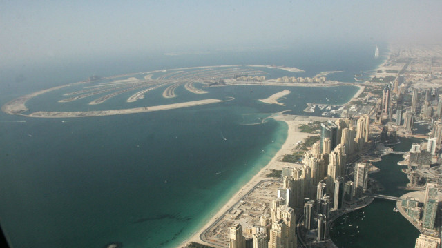 Those who stop off in Dubai will be able to take in the city's spectacular skyline as well as the wonders of construction that are the artificial islands of the Palm Jumeirah.