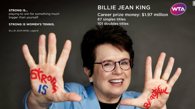 Billie Jean King Tennis