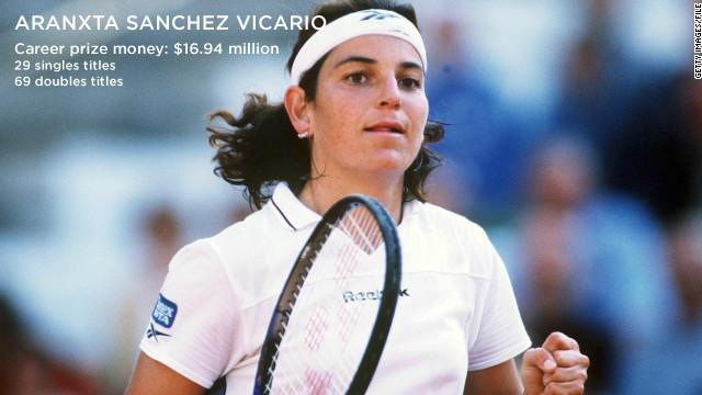 Arantxa Sanchez Vicario Tennis