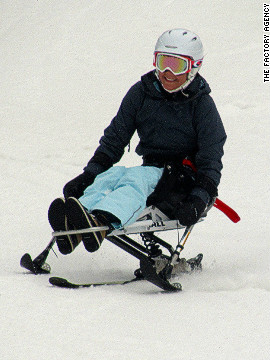 One such challenge for the Minnesota-native was to get back on the slopes and learn to enjoy winter again, which she did with the help of a mono-ski at Stratton Mountain in Vermont. &quot;Its been fun to be out there on the snow again and not be confined to four wheels,&quot; Weggemann told CNN.