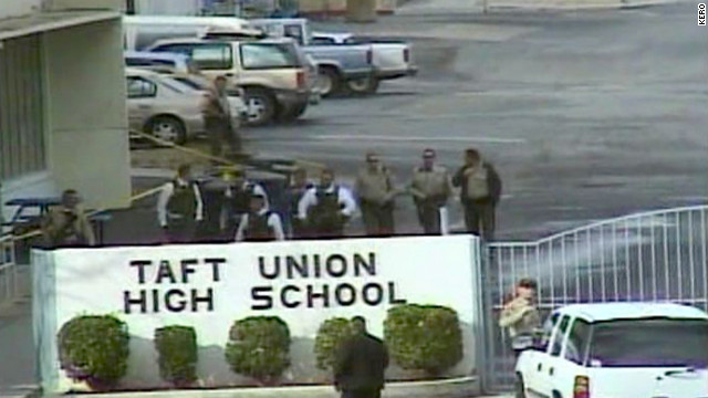 Police: Teen shot 1 classmate, missed another in California high school