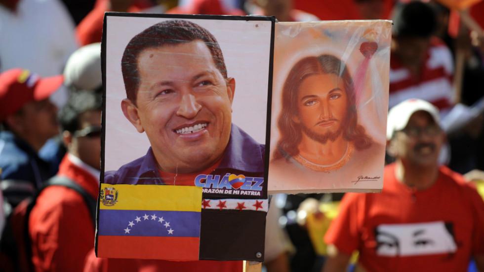 Durmiendo con Chávez